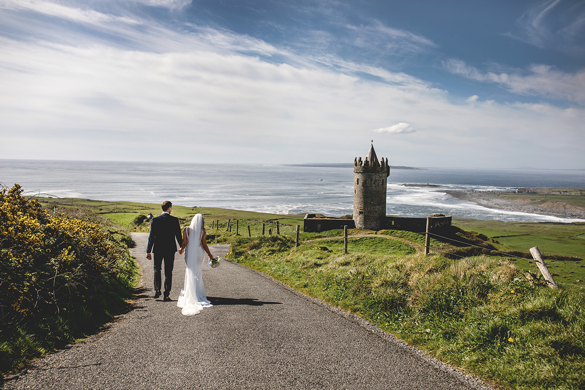 Doolin Castle Wedding