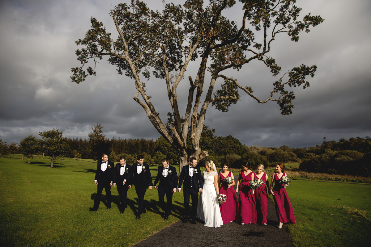 Inn at Dromoland Wedding