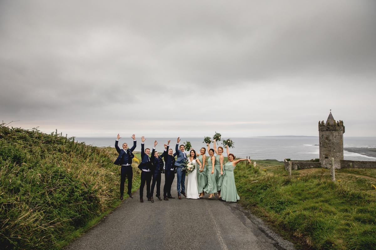 Clare Wedding Photographer Hotel Doolin Wedding