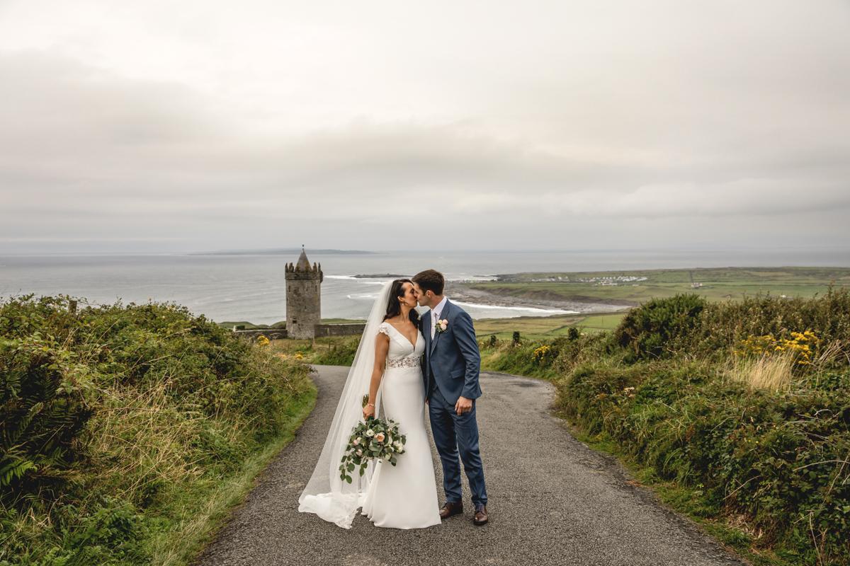 Hotel Doolin Wedding Clare Wedding Photography